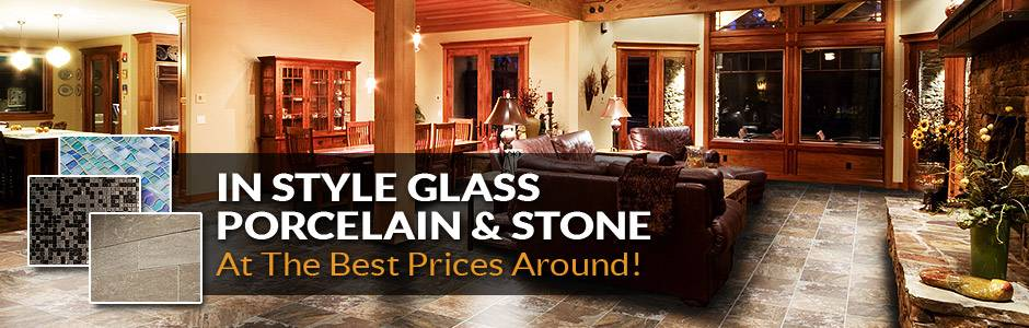 In Style - Porcelain - Stone - At the best prices around