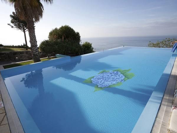 Photo gallery pool mosaics for Pool mosaic designs