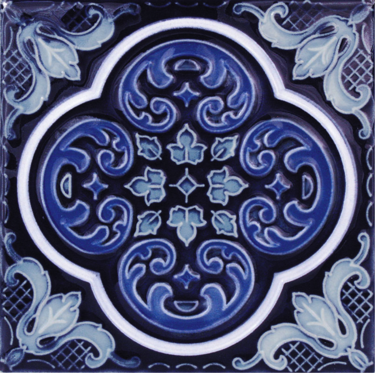 casablanca cobalt ocean deco national pool tile ctileplusonlinecom