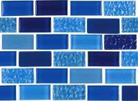National Pool Tile - Essence Royal 1x2