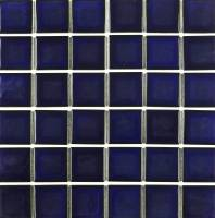 "Fujiwa Tile - cel-291 Royal Blue 2""x2"""