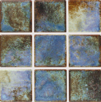 "National Pool Tile - Martinoque Ocean Blue 2""x2"""