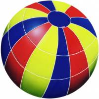 Artistry in Mosaics - Beach Ball Mosaic-Multi Color (med)