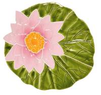 Artistry in Mosaics - Lily Pad with flower Mosaic