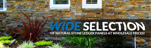 Wide Selection - Of Natural Stone Ledger Panels