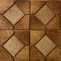 "Fujiwa Tile - Alco-504 Nature Brick Deco 6""x6"" - Image 2"