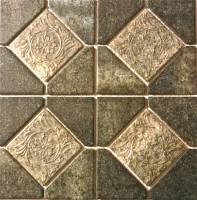 "Fujiwa Tile - Alco-503 Nature Moss Green Deco 6""x6"" - Image 2"