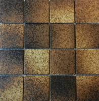 "Pool Tile - 3""x3"" Pool Tiles - Fujiwa Tile - Alex-504 Nature Brick 3""x3"""