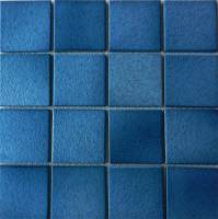 "Pool Tile - 3""x3"" Pool Tiles - Fujiwa Tile - Alex-502 Nature Blue 3""x3"""