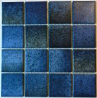 "Pool Tile - 3""x3"" Pool Tiles - Fujiwa Tile - Lark-110 Blue B;lend 3""x3"""