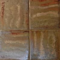 "Fujiwa Tile - Aurora-2 Spring Bronze 6""x6"""