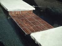 "Fujiwa Tile - Aurora-2 Spring Bronze 6""x6"" - Image 3"