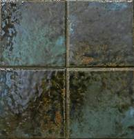 """Wall Tile - Porcelain Mosaics - Fujiwa Tile - Joya-601 Verde 6""""x6"""""""