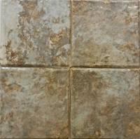 """Wall Tile - Porcelain Mosaics - Fujiwa Tile - Joya-603 Gold 6""""x6"""""""