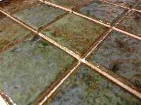 "Fujiwa Tile - Joya-301 Verde 3""x3"" - Image 2"