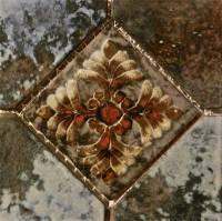 """Wall Tile - Porcelain Mosaics - Fujiwa Tile - Joya-504 Cotto 6""""x6"""" Deco"""