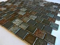 "Fujiwa Tile - Pad-133 Moss Green 1""x1"" Trim Tile - Image 2"