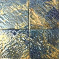"""Pool Tile - 6""""x6"""" Pool Tiles - Fujiwa Tile - Planet-663 Opal 6""""x6"""""""