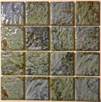 "Pool Tile - 3""x3"" Pool Tiles - Fujiwa Tile - Planet-332 Albi 6""x6"""