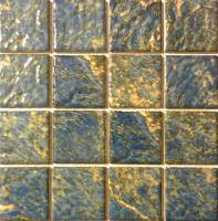 "Pool Tile - 3""x3"" Pool Tiles - Fujiwa Tile - Planet-333 Opal 3""x3"""