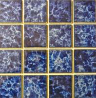 "Pool Tile - 3""x3"" Pool Tiles - Fujiwa Tile - Titan-332 Sapphire 3""x3"""