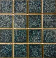 "Pool Tile - 3""x3"" Pool Tiles - Fujiwa Tile - Titan-333 Aquamarine 3""x3"""