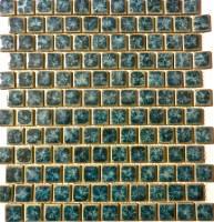 "Fujiwa Tile - Tnt-033 Aquamarine 1""x1"" - Image 1"