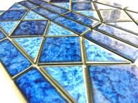 "Fujiwa Tile - Tilis-462 Sapphire 6""x12"" Border Pattern - Image 3"