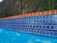 "Fujiwa Tile - Tilis-462 Sapphire 6""x12"" Border Pattern - Image 4"