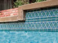 "Fujiwa Tile - Tilis-463  Aquamarine 6""x12"" Border Pattern - Image 2"