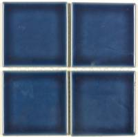 "Pool Tile - 3""x3"" Pool Tiles - Fujiwa Tile - Vips-917 Navy Blue 3""x3"""