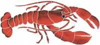 Pool Mosaics - Lobster Mosaics - Artistry in Mosaics - Lobster Mosaic