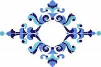 Pool Mosaics - Medallion Mosaics - Artistry in Mosaics - Masterpiece Light Accent