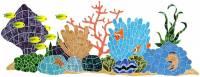 Pool Mosaics - Reef Scene Mosaics - Artistry in Mosaics - Ocean Reef Mosaic