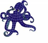 Pool Mosaics - Octopus Mosaics - Artistry in Mosaics - Octopus Mosaic-lg