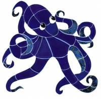 Pool Mosaics - Octopus Mosaics - Artistry in Mosaics - Octopus Mosaic-sm