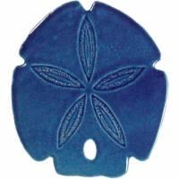 Pool Mosaics - Sand Dollar & Seashell Mosaics - Artistry in Mosaics - Sand Dollar blue