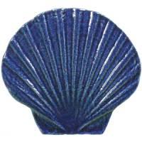 Pool Mosaics - Sand Dollar & Seashell Mosaics - Artistry in Mosaics - Seashell blue