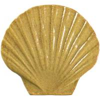 Pool Mosaics - Sand Dollar & Seashell Mosaics - Artistry in Mosaics - Seashell tan