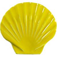 Pool Mosaics - Sand Dollar & Seashell Mosaics - Artistry in Mosaics - Seashell yellow