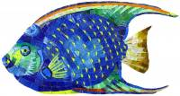 Artistry in Mosaics - Angel Fish