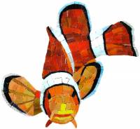 Artistry in Mosaics - Clown Fish