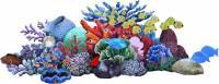 Pool Mosaics - Glass Pool Mosaics - Artistry in Mosaics - Glass Reef Scene