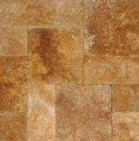 "MS International  - tuscany riviera-versailles pattern pavers-1.18"" thickness"