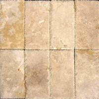"Decking - Natural Stone Pavers - MS International  - Tuscany Beige Chiseled Pavers-1.18"" thickness"