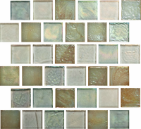 "Pool Tile - Glass Pool Tiles - National Pool Tile - Oceanscapes Rincon 1""x1"""