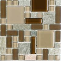 Pool Tile - Glass Pool Tiles - National Pool Tile - Fusion Brown