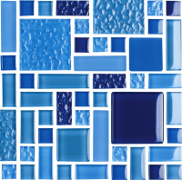 Pool Tile - Glass Pool Tiles - National Pool Tile - Fusion Royal