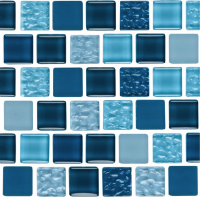 Pool Tile - Glass Pool Tiles - National Pool Tile - Essence Imperial 1x1