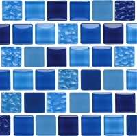 Pool Tile - Glass Pool Tiles - National Pool Tile - Essence Royal 1x1